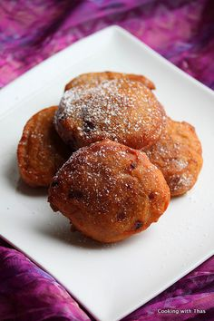 Easy Banana Fritters Recipe   Cooking with Thas