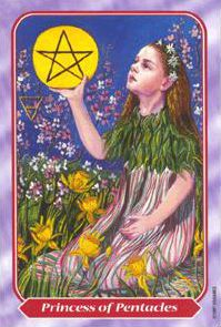 June 27 Tarot Card: Page of Pentacles (Spiral deck) Don't let your dreams stay just dreams. Start planning now. Take small, practical steps, and you can actually make your dreams come true
