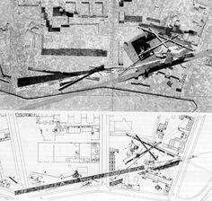 Daniel Libeskind. Edge City, 1987. Micromegas,1979