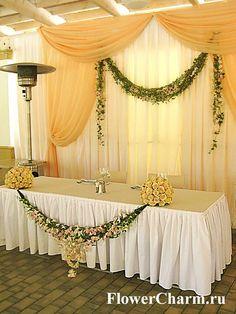 Оформление зала цветами Цветочное очарование - Цветочное очарование
