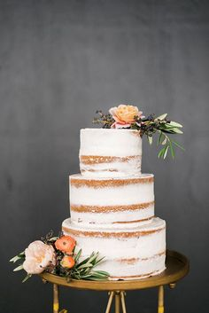 naked cake autunnale a piani