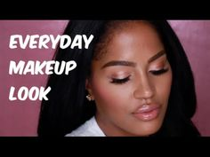 UNDER EYE CONCEALER! + Easy Everyday Makeup Look in 10 min | MakeupShayla - YouTube