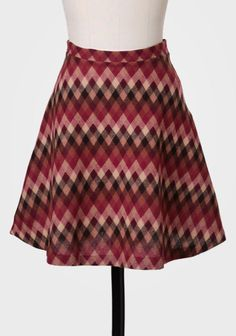Field Of Study Chevron Skirt at #Ruche @Ruche