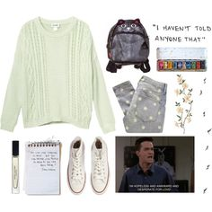 chandler u r my spirit animal, created by smoothpeanutbutter on Polyvore