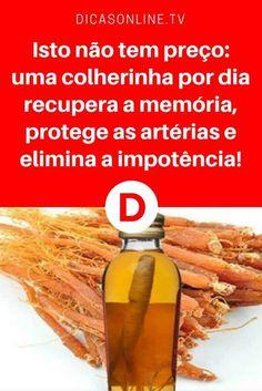 Ginseng beneficios | Isto não tem preço: uma colherinha por dia recupera a memória, protege as artérias e elimina a impotência! | Um maravílhoso remédio natural... Aprenda ↓ ↓ ↓