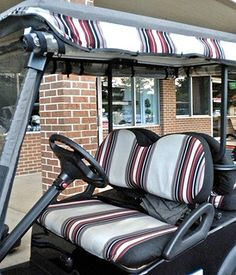 38 best Golf Cart Custom Seats and Seat Covers images on Pinterest  Number Sunbrella Golf Cart Cover on