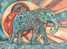 Las ilustraciones psicodélicas de Tamara Phillips « Cultura Colectiva