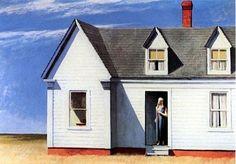 Il mondo di Mary Antony: Edward Hopper - Aforismi ed opere