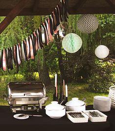 Garden Party | Osiemnastka | Bufet | Dekoracja bufetu