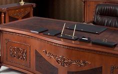Ofis Mobilyaları - Carved Klasik Makam Takımı