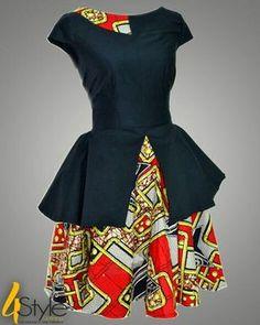 Vintage African fashion