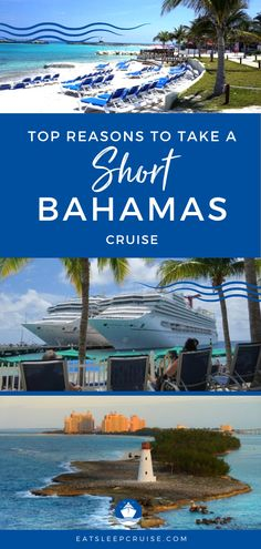 The Best Reasons to Take a Bahamas Cruise Vacation | Bahamas cruises are typically short in duration but packed with action. Here we outline the top reasons you should take a short Bahamas cruise this year, including pictures. Whether it's your first time on a cruise or you're a veteran cruiser and no matter the cruise line (Carnival, Norwegian, Royal Caribbean, etc.), you'll want to make your next cruise vacation to the Bahamas. #Bahamas #BahamasVacation #CruiseVacation #ShortCruise…