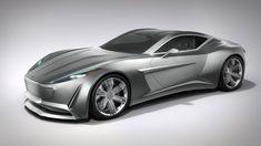 Aston Martin VIE GH Anniversary 100 Concept - Car Body Design