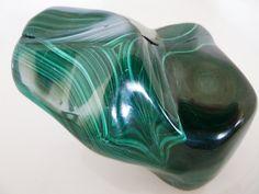Malachite Specimen Huge 1.7 Pounds Polished Stone Crystal Healing Meditation Intuition Scrying Gemstone by SandiLaneFineArt on Etsy