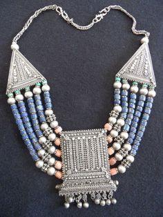 Collar Necklace,  from YEMEN.