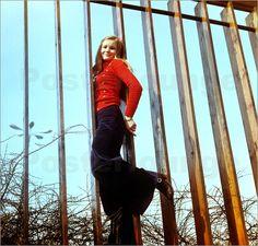 Poster DDR - Junge Frau 1970er Jahre