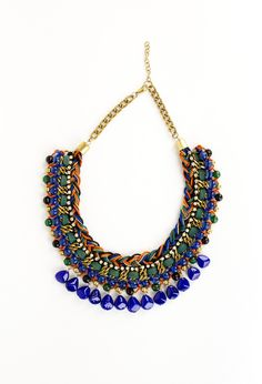 Add a bold punch to your look with this CB statement necklace! #accessories  #summer2013 #fashion #necklace