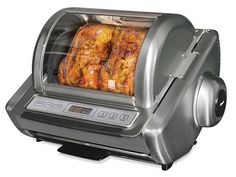 Ronco EZ-Store Rotisserie oven | ShockinglyDelicious.com PERFECT DAD GIFT!   #fathersday #foodiegifts