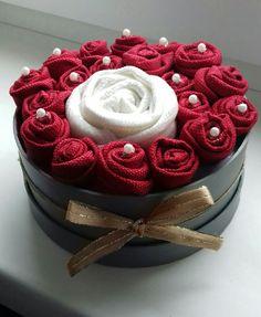 Textil roses box