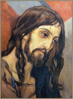 Mikhail Nesterov, Head of Christ. Christian Drawings, Christian Artwork, Christian Images, Jesus Pictures, Pictures To Draw, Religious Icons, Religious Art, Jesus Reyes, Jesus Christus