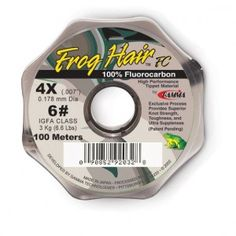 Frog Hair Fluorocarbon Tippet is the best fly fishing tippet for trout!