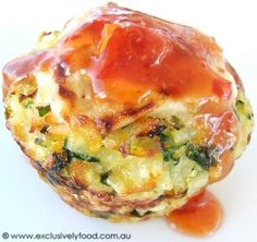 Exclusively Food: Rice and Vegie Cakes Recipe