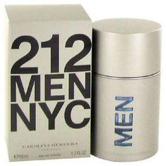 212 by Carolina Herrera Eau De Toilette Spray 1.7 oz for Men Cologne Best Gift #CarolinaHerrera