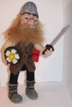 needle felt viking - Google Search