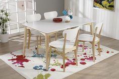 JADE-ruokailuryhmä (pöytä 140x85cm+4 tuolia)