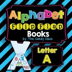 Alphabet Flip Flap Book- Letter A (Interactive Notebook Friendly)Free FREEBIE!!!
