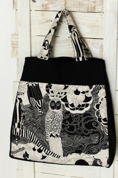 Owls Bag | kokka-fabric.com/en