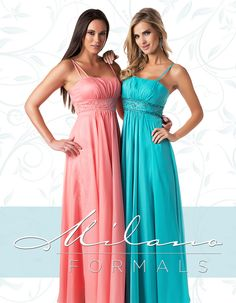 Have you seen the beautiful bridesmaid dresses from Milano Formals for 2015? Contact us for your Special Order Catalog! #MilanoFormals #Bridal #Wedding #Bridesmaid #WeddingColors #Dresses #Embroidery #Love