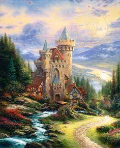 Guardian Castle | The Thomas Kinkade Company