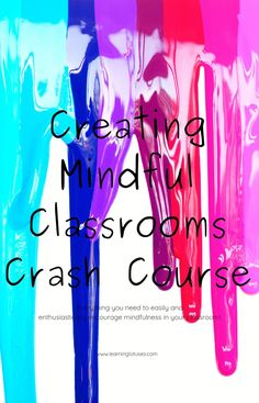 Sign up for the Creating Mindful Classrooms Crash Course and get everything you need to easily and enthusiastically encourage mindfulness in your classroom! Natural Parenting, Parenting Advice, Blog Names, Social Emotional Learning, Attachment Parenting, Yoga For Kids, Emotional Intelligence, Student Learning, Self Development