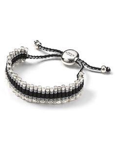 Links Of London Grey Zig-Zag Friendship Bracelet | Bloomingdale's
