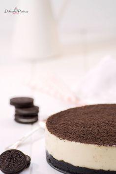 Tarta de Oreo - Kaput Tutorial and Ideas Ultimate Turtle Cheesecake Recipe, Turtle Cheesecake Bars, Cheesecake Factory Recipes, Banana Cheesecake, Healthy Cheesecake, Coconut Cheesecake, Easy Cheesecake Recipes, Cheesecake Brownies, Cheesecake Desserts