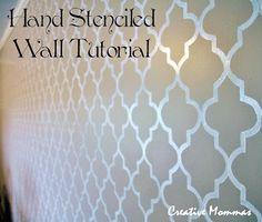 Free Printable Wall Stencils | Wall Stencil Template
