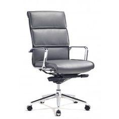 Eros High Back Office Chair Grey - Office