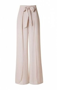 How to Sew an easy pair of knit pants DIY Layered Front High Waist with Tie Lightweight Palazzo Pants – Beige Fashion Pants, Hijab Fashion, Fashion Dresses, Curvy Outfits, Casual Outfits, Dress Casual, Casual Jeans, Mode Mantel, Curvy Jeans