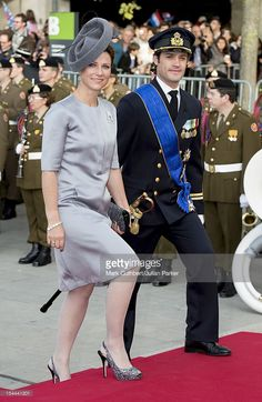 Prince Carl Philip of Sweden and Princess Martha Louise of Norway attend the wedding ceremony of Prince Guillaume Of Luxembourg and Stephanie de Lannoy at the Cathedral of our Lady of Luxembourg on October 20, 2012 in Luxembourg, Luxembourg. The 30-year-old hereditary Grand Duke of Luxembourg is the last hereditary Prince in Europe to get married, marrying his 28-year old Belgian Countess bride in a lavish 2-day ceremony. (Photo by Wolfgang Veerman/David Schwab/Getty Images)