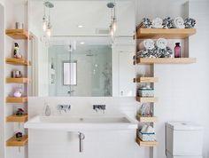 Bathroom shelf corner floating and diy ideas custom ideas for ...
