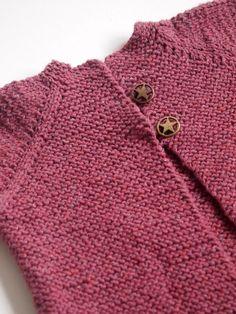 Strickjacke aus Baumwolle von+Flausch+auf+DaWanda.com