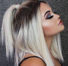 Cute hairstyles for Short Hair Short Ponytail Hairstyles Short Hair Ponytail, Cute Hairstyles For Short Hair, Short Hair Cuts, Curly Hair Styles, Natural Hairstyles, Teenage Hairstyles, Pixie Cuts, Party Hairstyles, Short Pixie