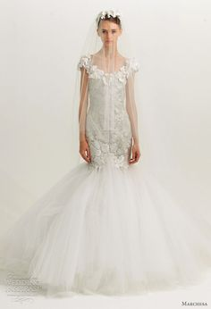 Marchesa Fall 2012 Wedding Dresses | Wedding Inspirasi