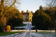 Chawton House in evening light. Jane's brother, Edward, owned this house, as well as Godmersham Park. Image @Tony Gebely Grant