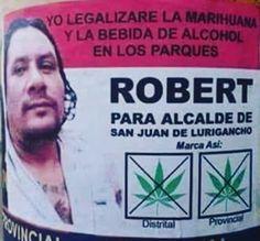 A este candidato peruano una Corte Constitucional como la Colombiana le hubiese dado una gran ayuda para cumplirle a sus electores. #compol #comunicacionpolitica Dado, Ganja