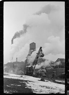Orient No. 1, one of the largest coal mines in the world. Franklin County, Illinois (see 26940-D)]