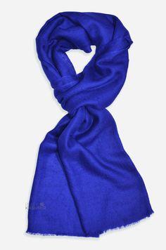 Indigo Cashmere Pashmina Handwoven Scarf/Shawl Cashmere Pashmina, Shawl, Indigo, Hand Weaving, Beauty, Fashion, Moda, Hand Knitting, Fashion Styles