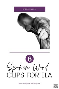 Need inspiration and ideas for introducing spoken word poetry to your middle and high school students? In this post, you'll find great slam video clips and related creative prompts to help you engage students in writing their own slam poetry. English Classroom, English Teachers, Poetry Activities, Writing Prompts, Writing Ideas, Poetry Lessons, Teaching Poetry, Self Improvement Quotes, Daily Inspiration Quotes