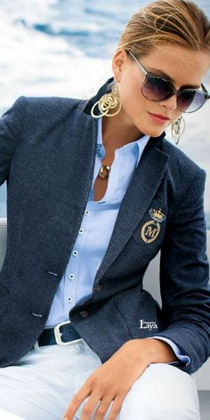 Perhaps without the earrings for me...but otherwise love this sharp look